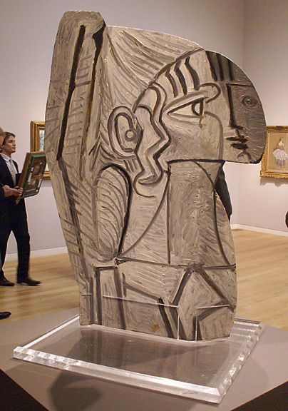 Picasso sculpture back