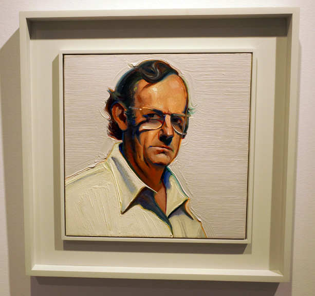 Thiebaud selfportrait