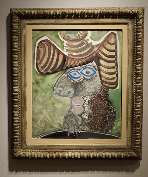 Man's head by Picasso