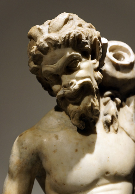 Head of satyr