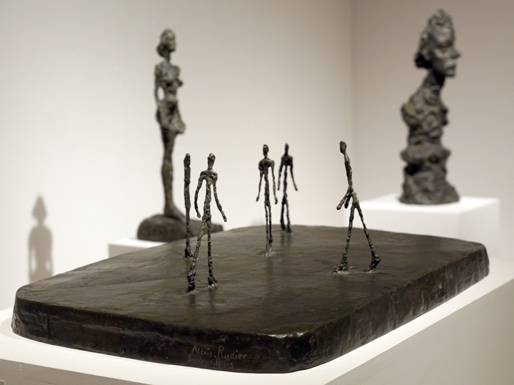 Table of Giacomettis
