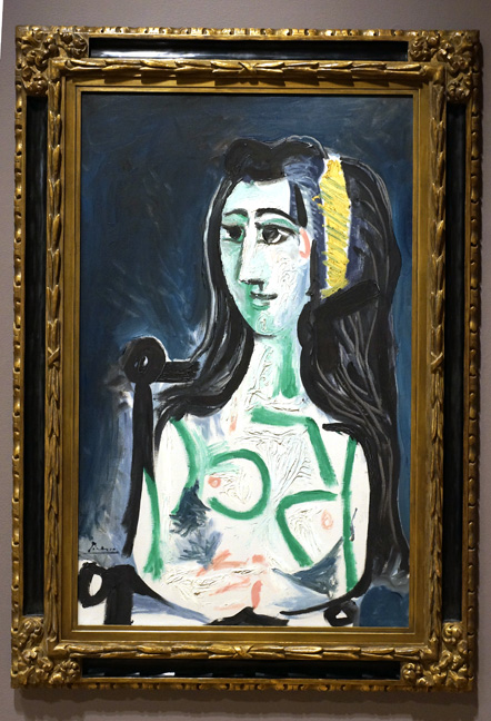 Lady in green by Picasso