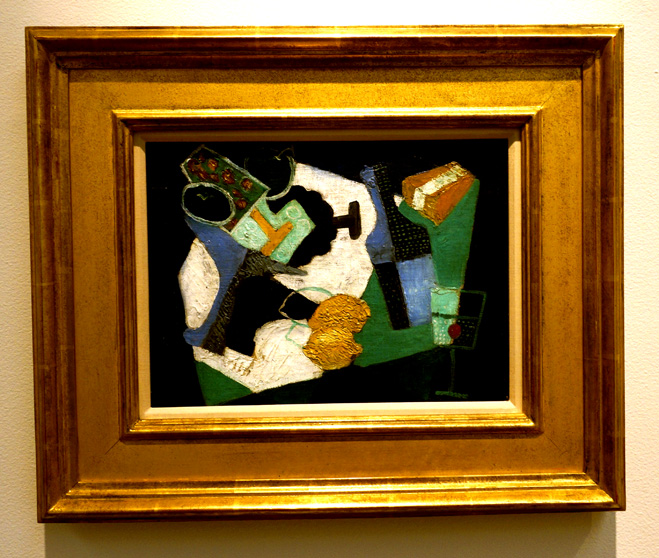 Cubist painting by Rivera