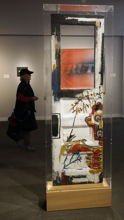 Basquiat door