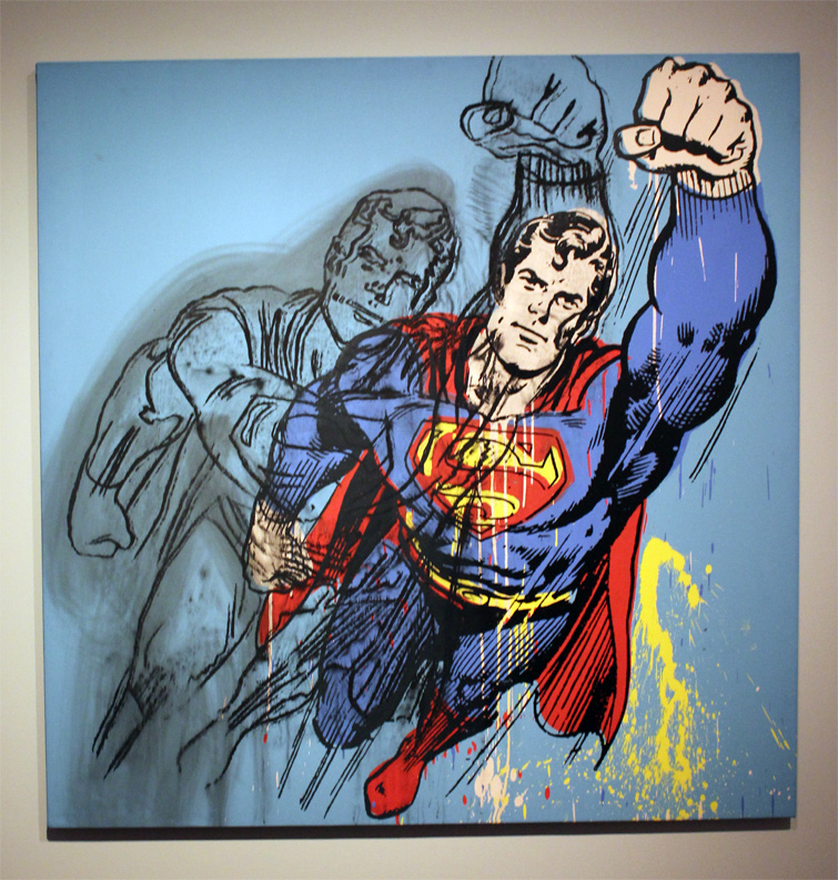 Superman by Warhol