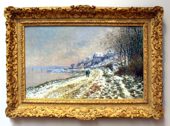 Epinay by Monet