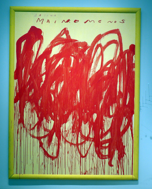 Twombly red
