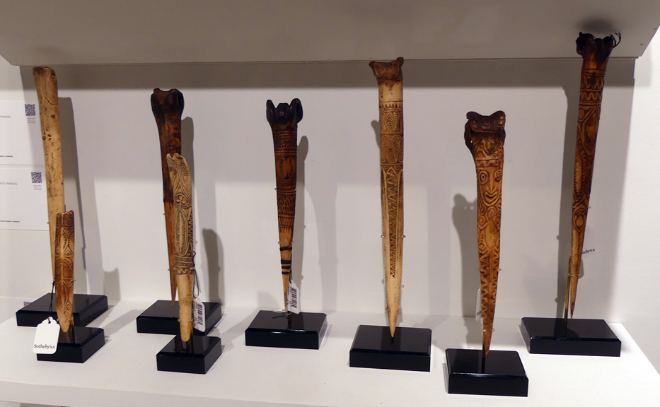 Daggers from Papua