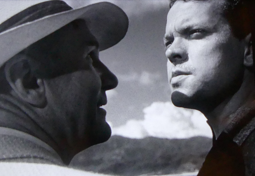 Glenn Anders and Orson Welles