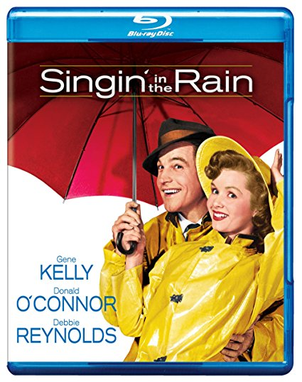 Blue ray of Singin in the Rain