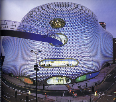 Selfridges in Birmingham, England by Future Systems