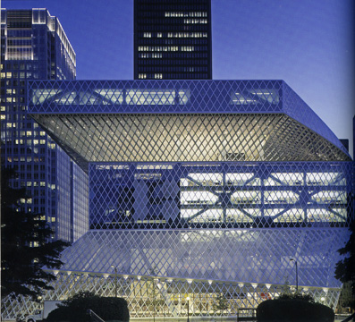 Seattle Central Library by the Office for Metropolitan Architecture