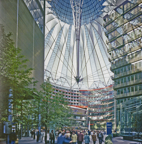 Sony Center by Jahn