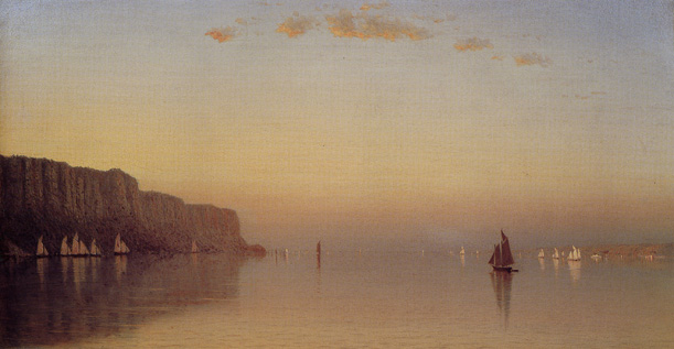 """Sunset Over The Palisades on the Hudson"" by Gifford"