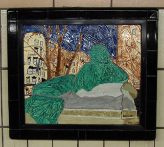 Another 86th Street station plaque
