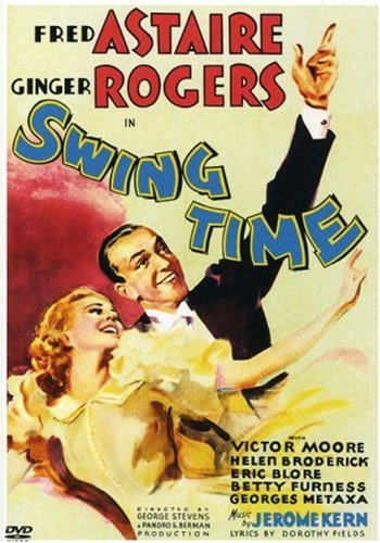 Cover of DVD of Swing Time