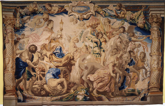 """The Triump of the Church over Ignorance and Blindness"" by Rubens"