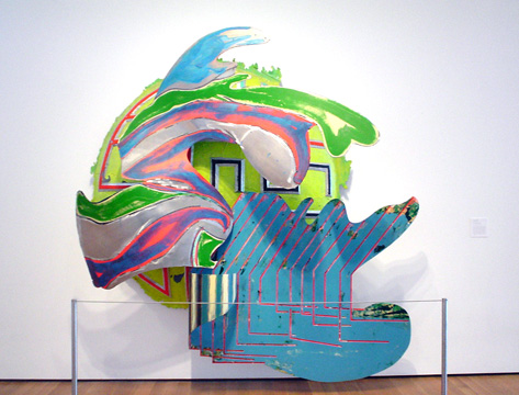 Wheelbarrow by Frank Stella