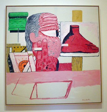 """In The Studio"" by Guston"