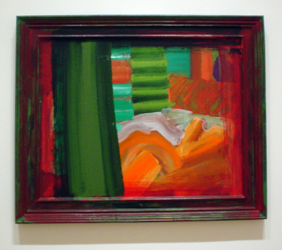 """In Bed in Venice"" by Howard Hodgkin"