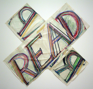 """Read/Reap"" by Bruce Nauman"