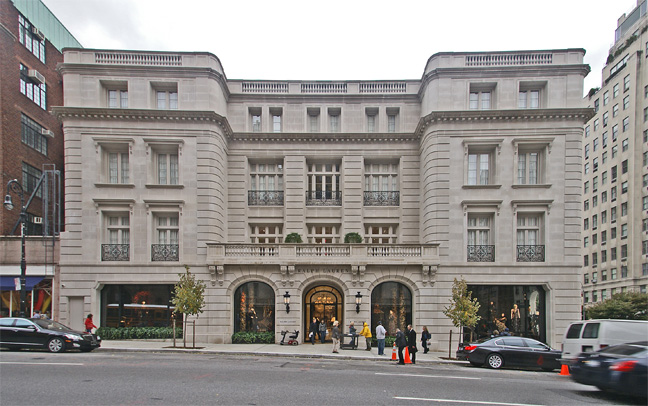 Madison Avenue facade