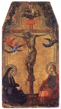 Crucifixion by Taddeo Gaddi