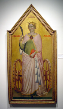 """St. Catherine of Alexandria"" by Bernardo Daddi"
