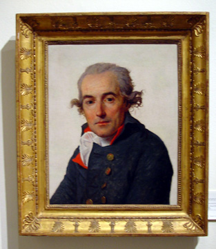"""Portrait of François Mellinet"" by David"