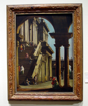 """A Capricio of the Palazzo del Senatore"" by Bellotto"