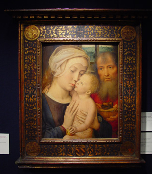 """The Holy Family"" by Gerard David"