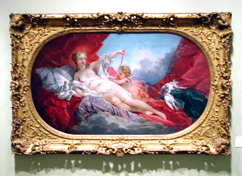 Venus and Cupid by François Boucher