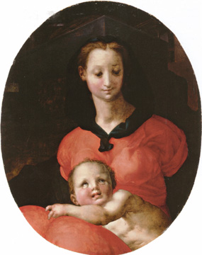 """Madonna and Child"" by Pontormo"