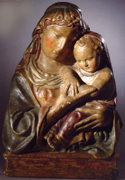 """Madonna and Child"" by workshop of Lorenzo Ghiberti"