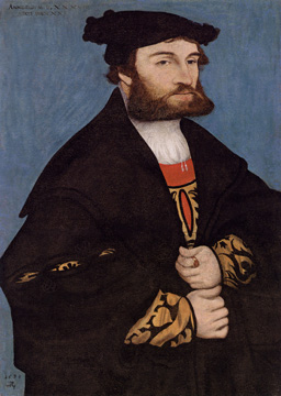 """Portrait of a Bearded Man"" by Cranach"
