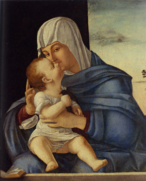 """Madonna and Child"" by Carpaccio"