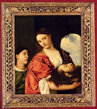 """Salome with the Head of St. John the Baptist"" Venetian school"
