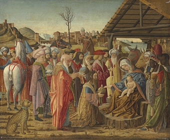 """The Adoration of the Magi"" by Marziale"