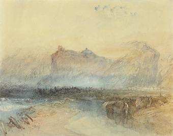 """A View inthe Domleschg Valley"" by Turner"