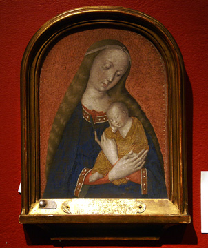"""Madonna and Child"" by Master of the Dijon Madonna"