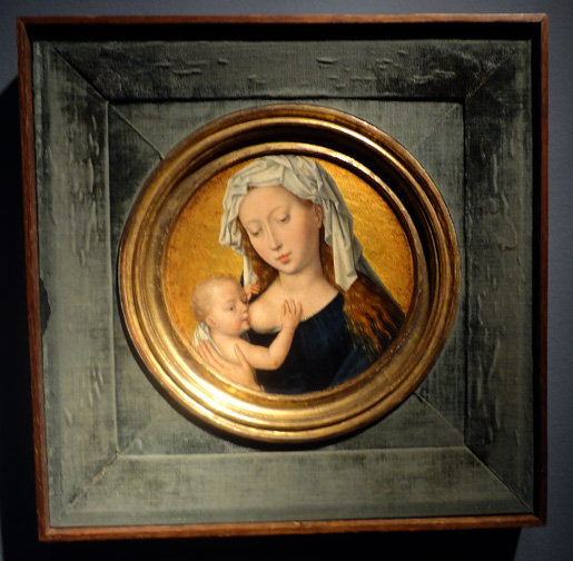 Madonna and Child by Memling