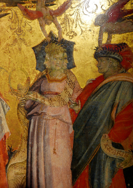 Detail of the Seven Virtues