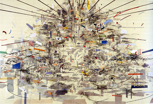 """Empirical Construction, Istanbul,"" by Julie Mehretu"