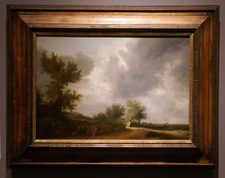 """Landscape with a Fence"" by van Ruysdael"