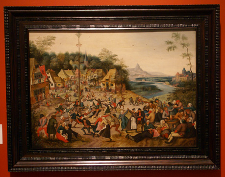 """St. George'sKermis with the Dance Around the Maypole"" by Brueghel"
