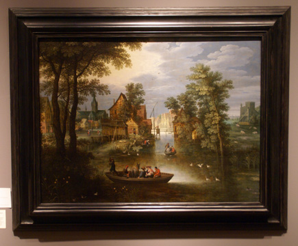 """River landscape"" by Ryckaert"