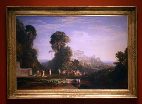 """The Temple of Jupiter"" by Turner"