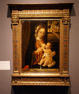 """Madonna and Child"" by Bergognone"