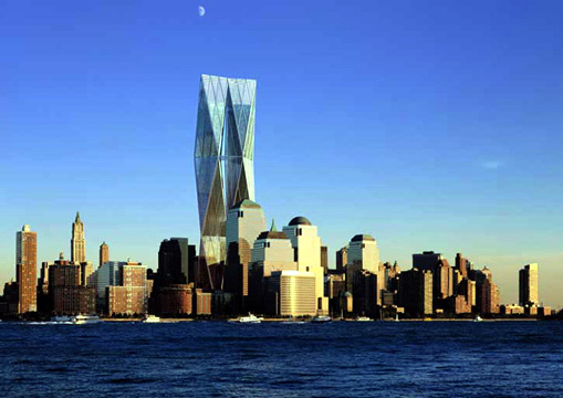WTC proposed designed by Foster & Partners